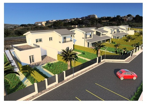 Apart-ville to sell in Sicily - Scala dei Turchi - 100 m² with Ocean View