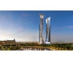 Роскошные отельные-апартаменты на Шейх Зайед с видом на канал Дубая AYKON City.