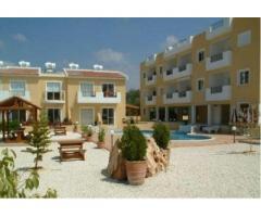 Квартира площадью 50 кв.м., вблизи море, сад, бассейн, в Эмба, Пафос, Кипр
