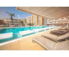 1-комнатная квартира 45 м² в СПА-комплексе в 600 метрах от песчаного пляжа