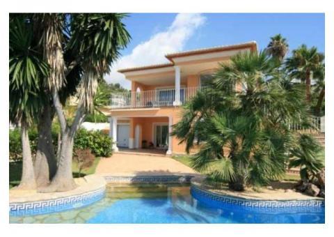 Недвижимость в Испании, Вилла с видами на море в Морайра,Коста Бланка,Испания